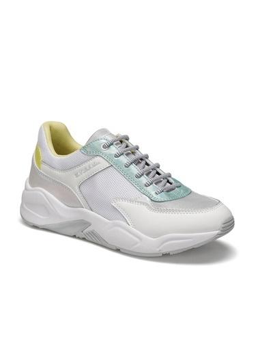 U.S. Polo Assn. Elly Kadın Sneaker Beyaz Beyaz